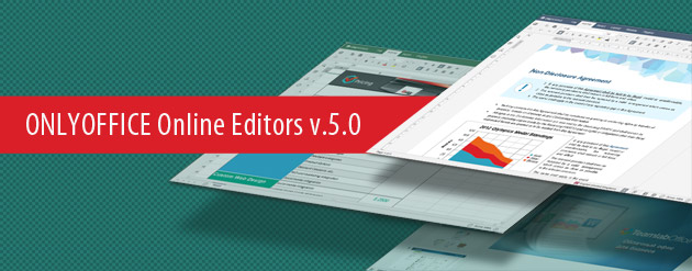 ONLYOFFICE Document Editors v5.0