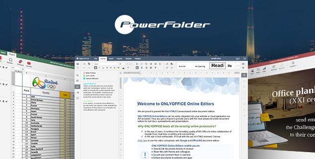 ONLYOFFICE takes par in PowerFolder Congress