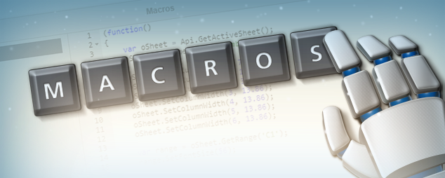 ONLYOFFICE editors with macros