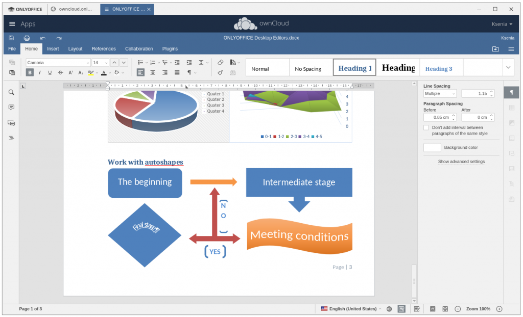 edit owncloud files with onlyoffice desktop suite
