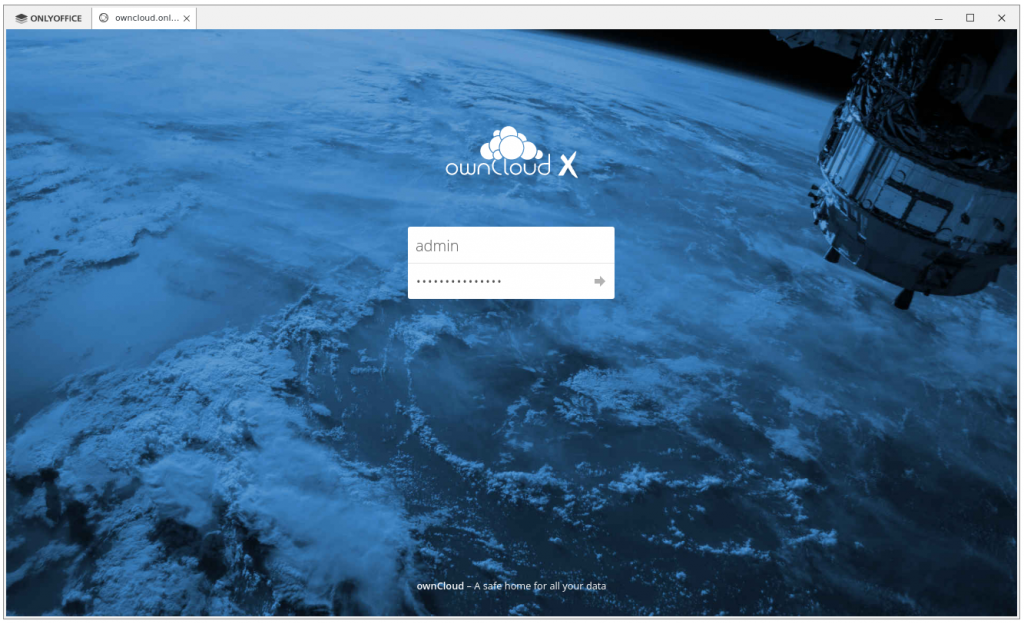 onlyoffice desktop editors connect to owncloud