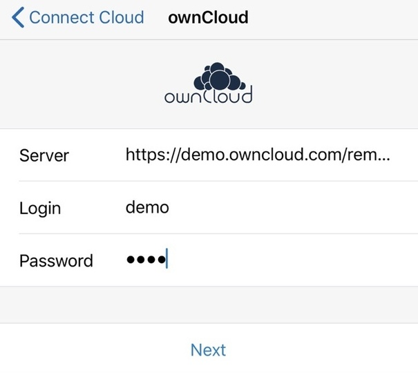Edit ownCloud docs with ONLYOFFICE for iOS | ONLYOFFICE Blog