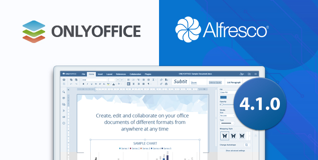 ONLYOFFICE, connector, Alfresco integration