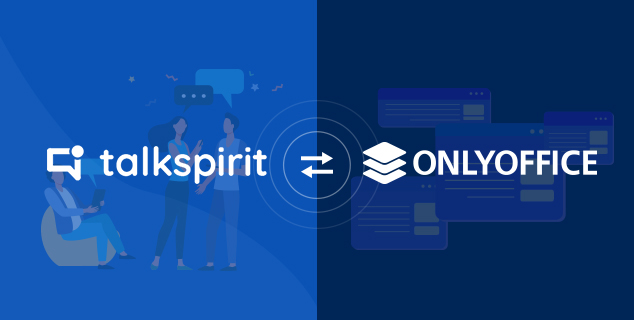 ONLYOFFICE brings its powerful document editors to the enterprise social network Talkspirit