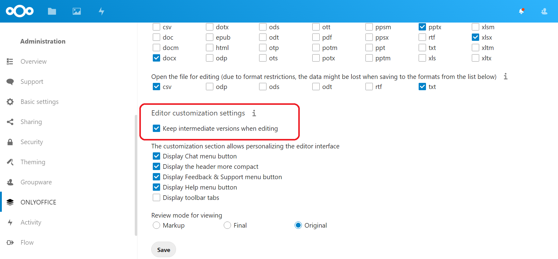ONLYOFFICE connector v.6.0.0 for Nextcloud with Force Save is available