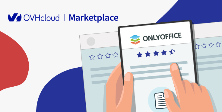 ONLYOFFICE Workspace débarque sur OVHcloud Marketplace