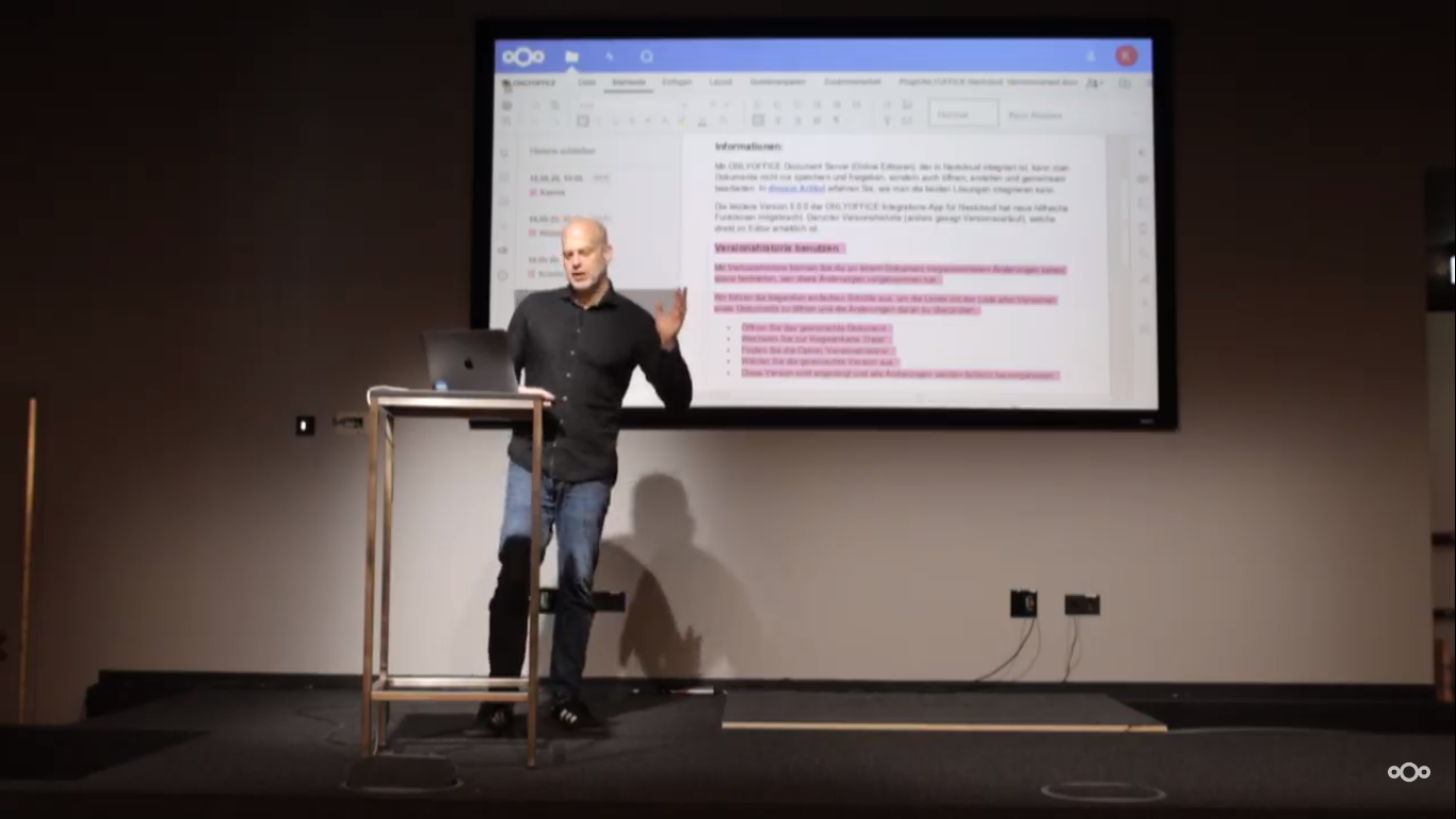 ONLYOFFICE at online Nextcloud Conference 2020: how it was