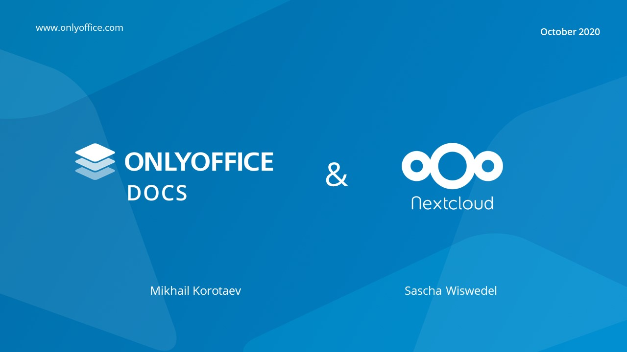 ONLYOFFICE integration with Nextcloud live (watch inside)