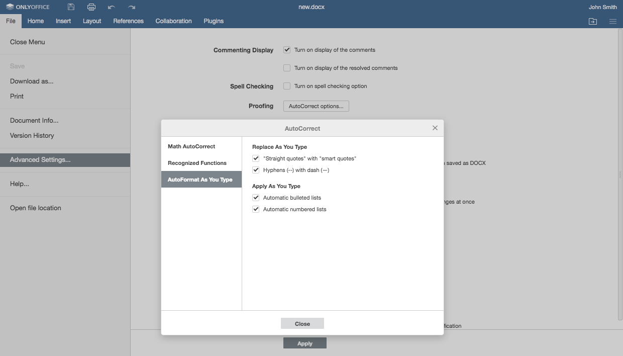 Meet ONLYOFFICE Docs 6.1 with advanced filtering for spreadsheets and endnotes for documents