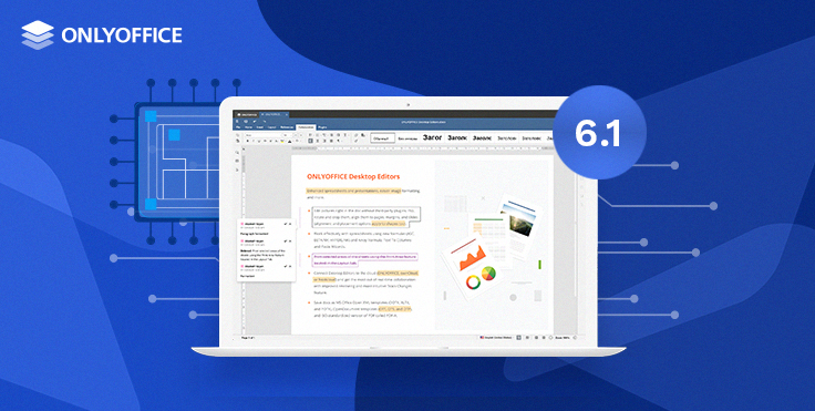 ONLYOFFICE Desktop Editors 6.1 goes to ARM-based Apple Silicon Macs