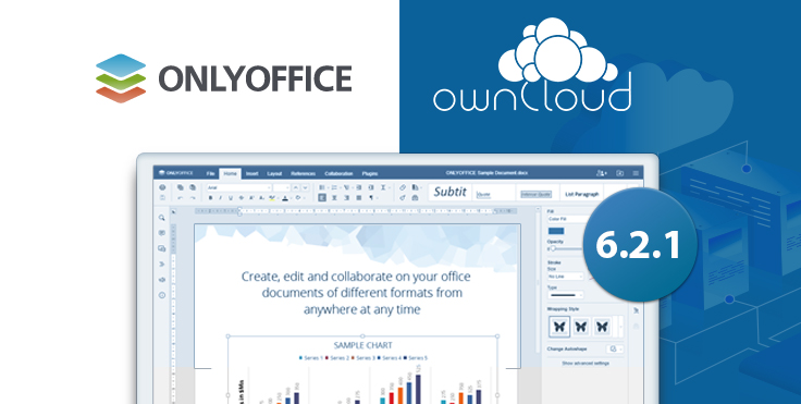 Use Force Save for documents shared between federated ownCloud instances with ONLYOFFICE connector v6.2.1