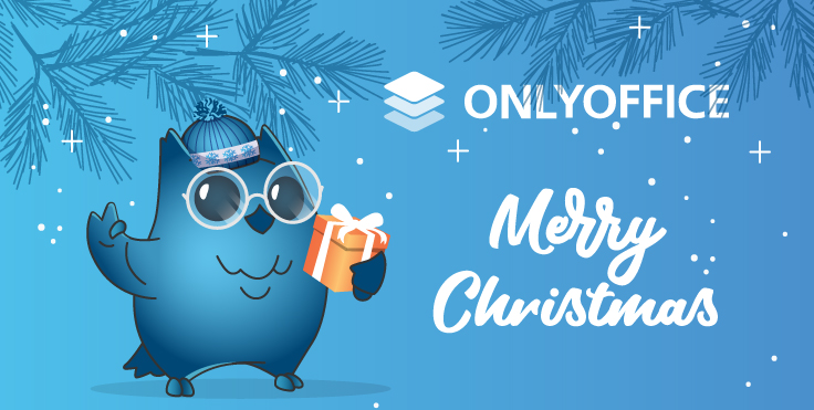 Merry Christmas and Happy New Year from ONLYOFFICE