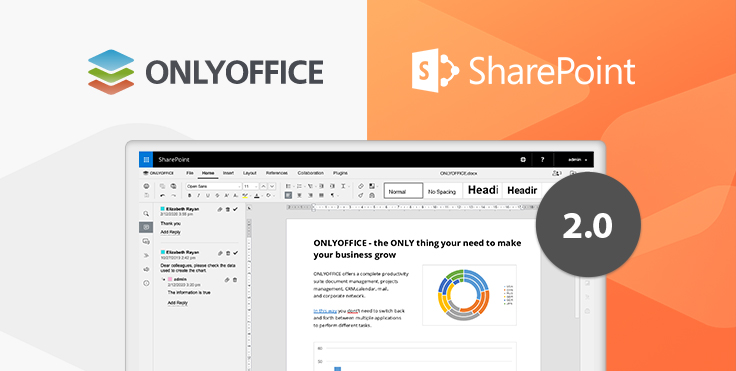 ONLYOFFICE connector for SharePoint 2019 is released