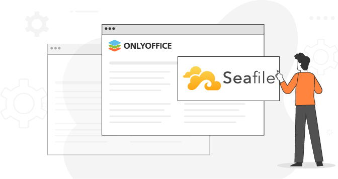 Integration von ONLYOFFICE Desktop Editoren mit Seafile