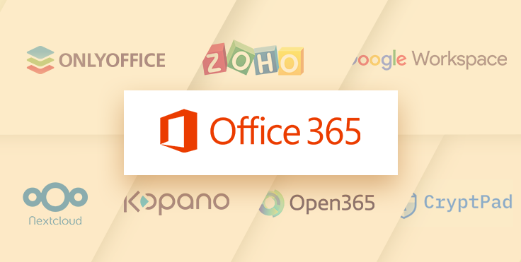 Sept alternatives solides à Office 365