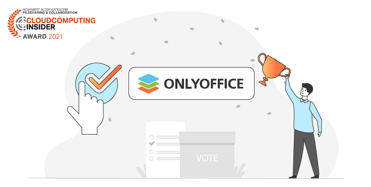 Cloud Computing Insider Award 2021: Vote for ONLYOFFICE