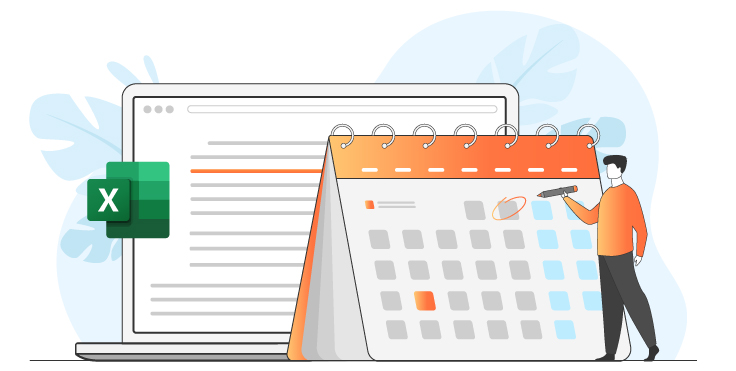 How to make calendar in Excel sheet