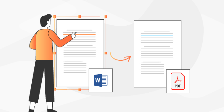 How to save Word document as PDF