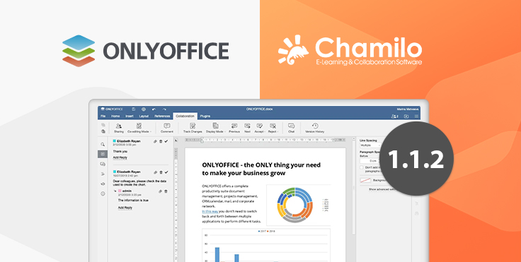 Official Chamilo connector v1.1.2 with viewing permissions and security enhancements released