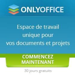 Espace collaboratif avec OnlyOffice une suite bureautique éthique en ligne